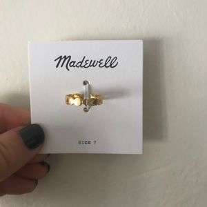 NWT gold ring from Madewell!⭐️